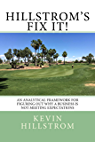 Hillstrom's Fix It!: An Analytical Framework For Figuring Out Why A Business Is Not Meeting Expectations (English Edition)