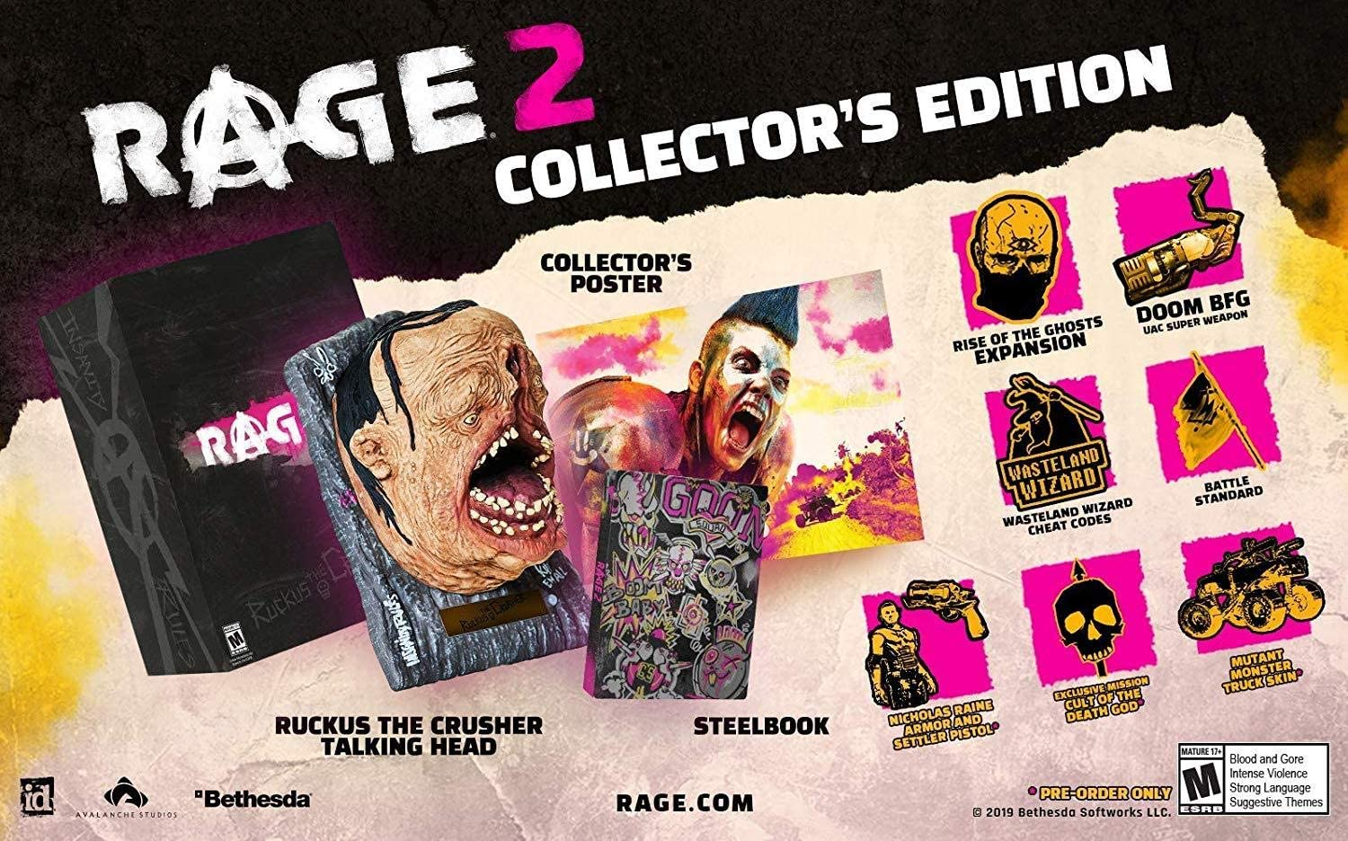 Amazon com: Rage 2 Collector's Edition - PC: Video Games