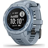 $199 » Garmin Instinct, Rugged Outdoor Watch with GPS, Features GLONASS and Galileo, Heart Rate…