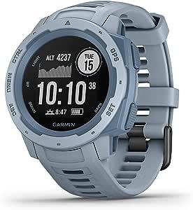 Garmin 010-02064-64 Instinct Outdoor GPS Smartwatch, Seafoam