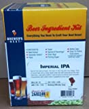 Home Brew Ohio Imperial IPA Brewer's Best One Gallon Home Brew Beer Ingredient Kit, Yellow
