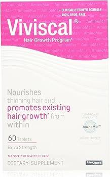 Viviscal Extra Strength Hair Nutrient 60-Tablets