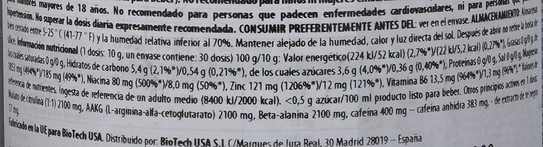 Biotech USA IAF00093058 - Sangre Negra CAF + 330g Blaue Traube: Amazon.es: Salud y cuidado personal