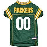 NFL Green Bay Packers Dog Jersey, Large