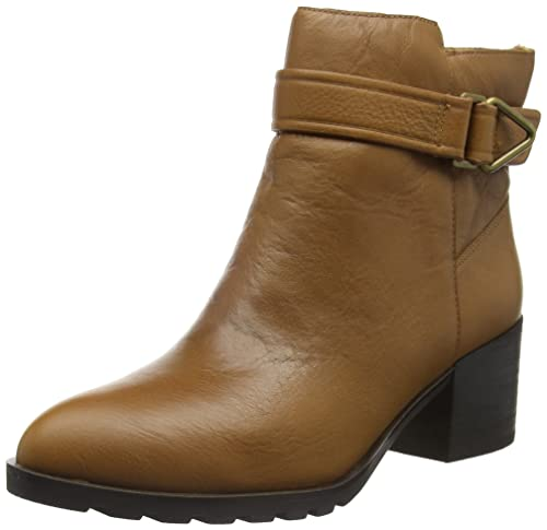 Aldo Tofino, Botines para Mujer, Marrón (Cognac/28), 36 EU: Amazon.es: Zapatos y complementos
