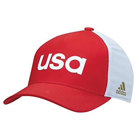44155ff2 Amazon.com: Adidas 2016 Olympics Caps Red Large/X-Large: Sports ...