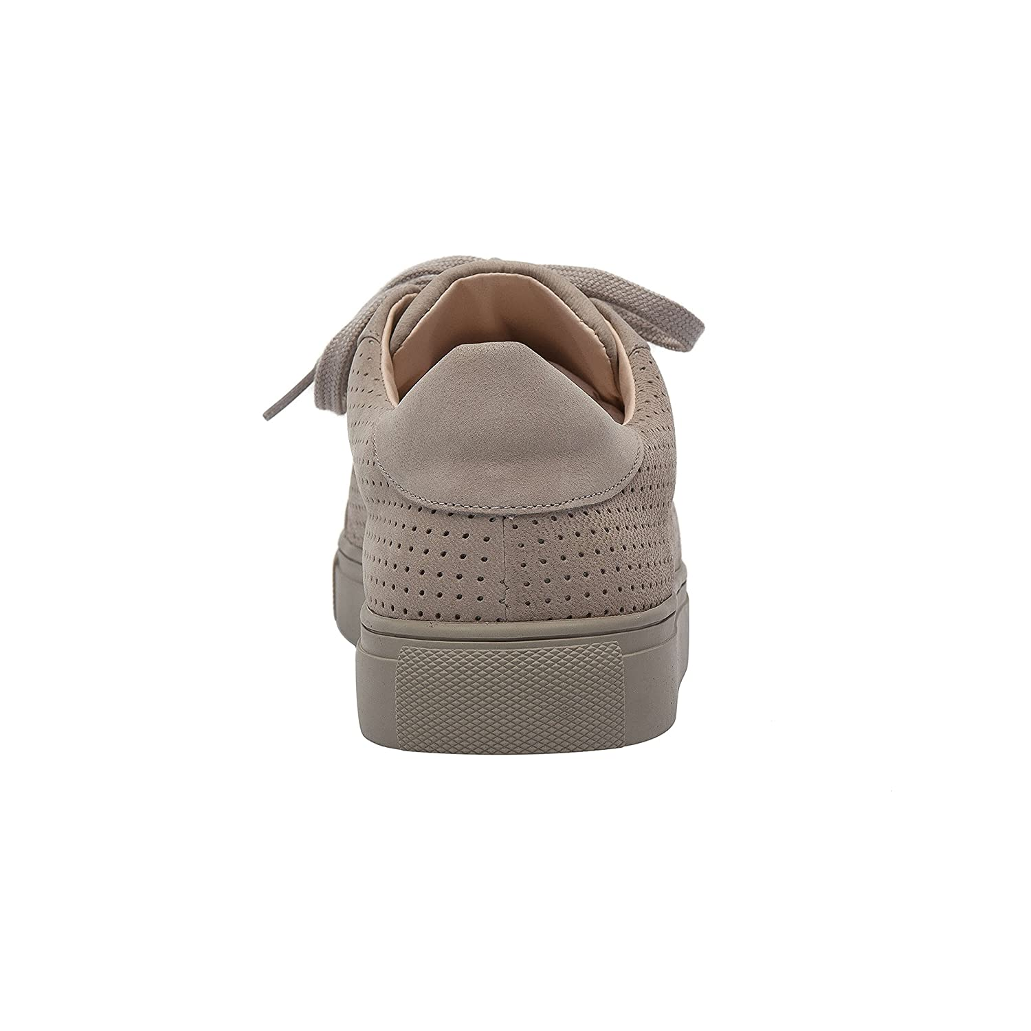 OLLYN | Women's Lace-up Perforated Leather Or Suede Comfortable Fashion US|Grey Sneaker B07B6DFLN6 7 B(M) US|Grey Fashion Nubuck 4a18d1