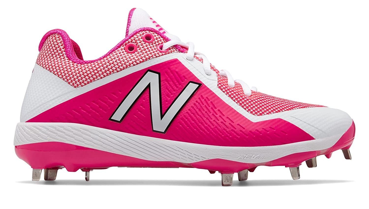 [New Balance(ニューバランス)] 靴シューズ メンズ野球 4040v4 Mothers Day Alpha Pink with White ピンク ホワイト US 13 (31cm) B07DMSBVVY
