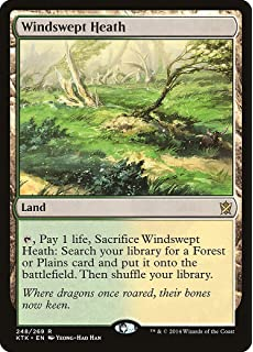 magic the gathering windswept heath 248269 khans of tarkir - Temple Garden