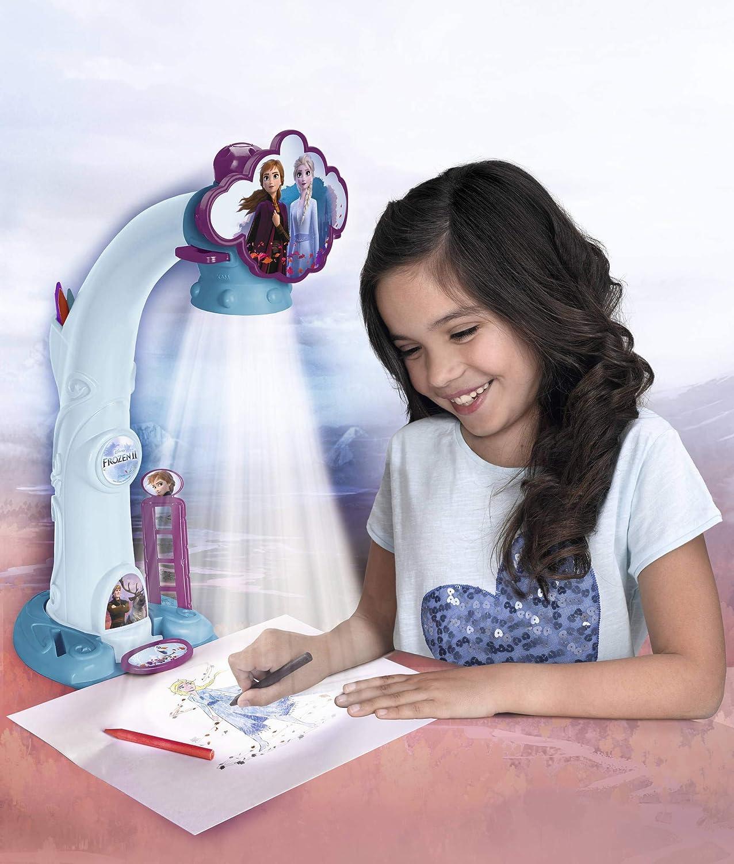Magic Artist Famosa 700015282 Projecteur Frozen 2 pour dessiner et Peindre Recommand/é /À partir de 3 ans -