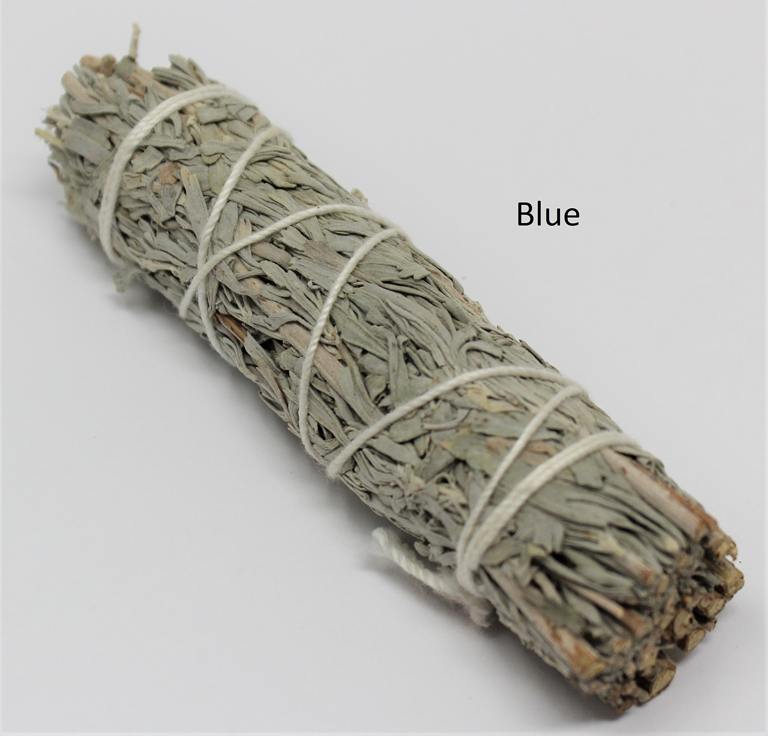 Rainbowrecords239 Set of 7 Sage Smudge Stick SAMPLER: White Black Blue Cedar Dragons Blood Desert Yerba Santa by Rainbowrecords239 (Image #4)