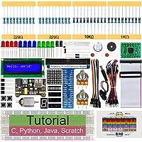 Freenove Super Starter Kit for Raspberry Pi 4 B 3 B+ 400, 411-Page Detailed Tutorials, Python C Java Scratch Code, 164…