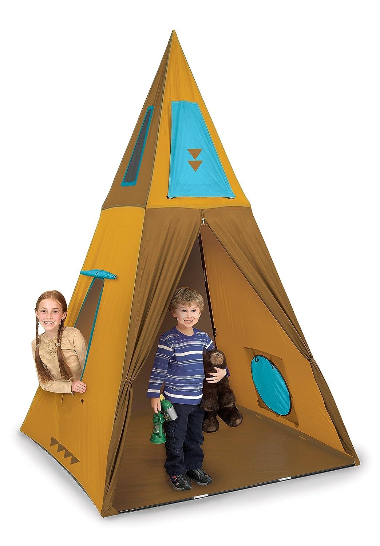 Amazon.com Pacific Play Tents Kids Giant Teepee Tent - 60  x 60  x 96  Toys u0026 Games  sc 1 st  Amazon.com & Amazon.com: Pacific Play Tents Kids Giant Teepee Tent - 60