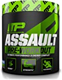 Muscle Pharm Assault Pre-Workout Powder, Blue Raspberry, 30 Count