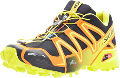 SALOMON Speedcross 3 CS Zapatilla de Trail Running Caballero, Negro/Amarillo, 48: Amazon.es: Zapatos y complementos