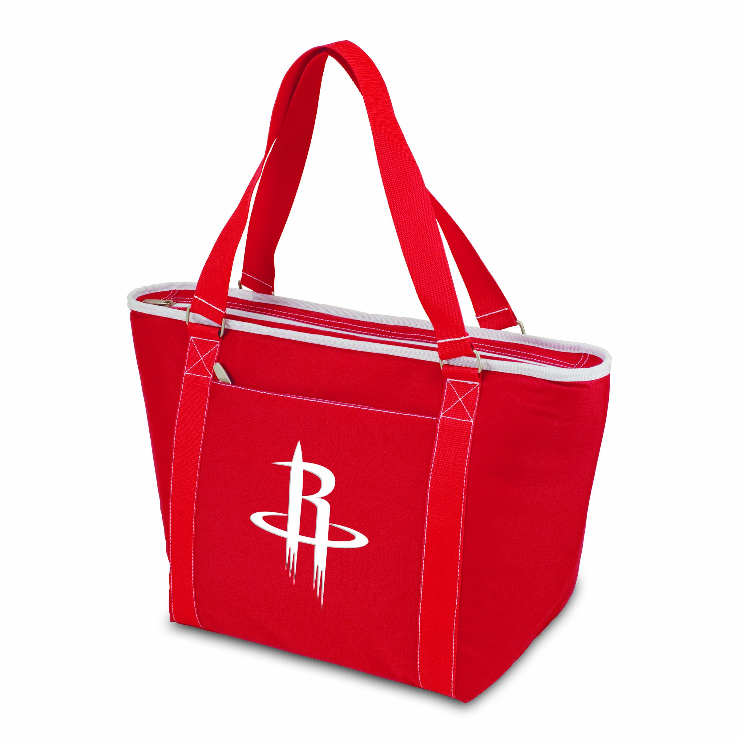 PICNIC TIME NBA Houston Rockets Topanga Insulated Cooler Tote, Red