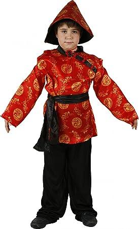 Disfraz de chino para niño: Amazon.es: Juguetes y juegos