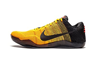 official photos d3ee8 c5bef Nike Men s Kobe XI Elite Low BRUCE LEE-UNIVERSITY GOLD BLACK-UNVRSTY RED