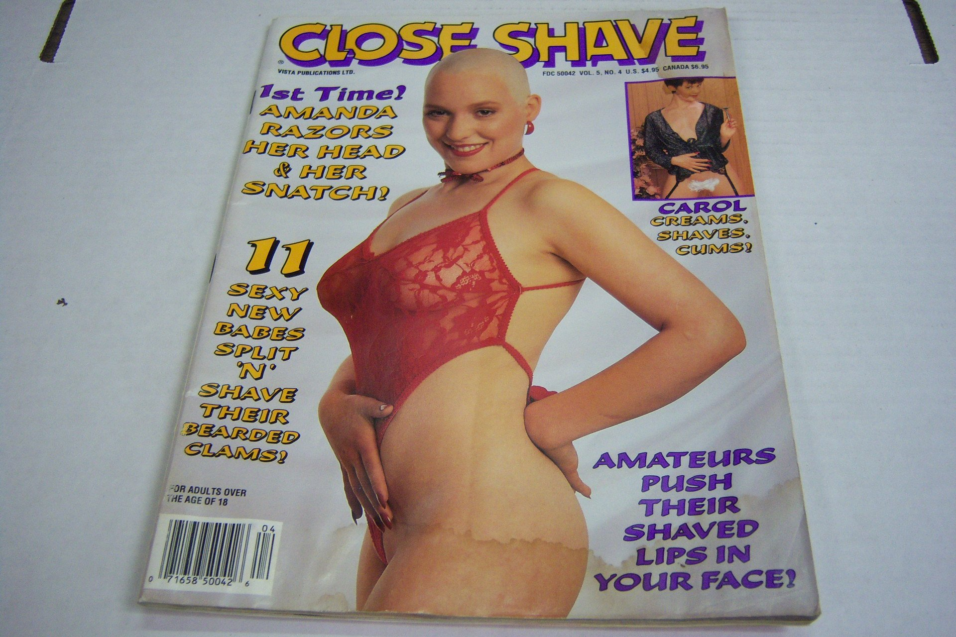 Amazon.com: Close Shave Busty Adult Magazine