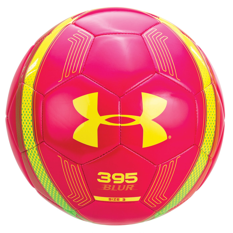 Under Armour 395 Blur balón de fútbol Gloss rosa/amargo ...