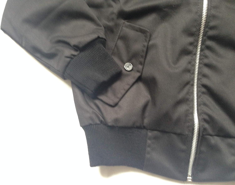 Street Fox Harrington Jacket Adults British Made Classic 1970S Vintage Retro Mod Skin Scooter Tartan Lining