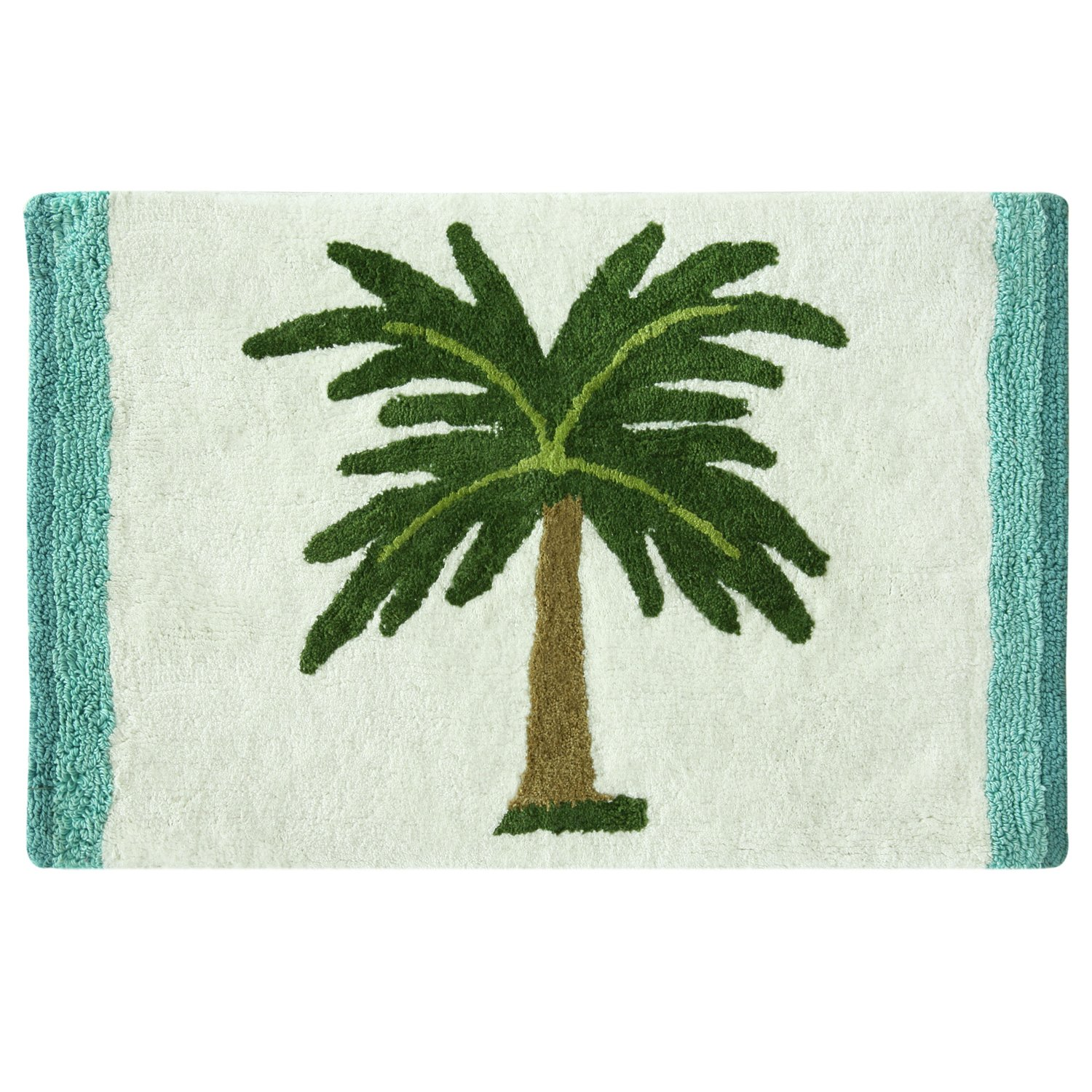 20 x 30 Bath Rug 20X30 Bacova Guild Palm Tree