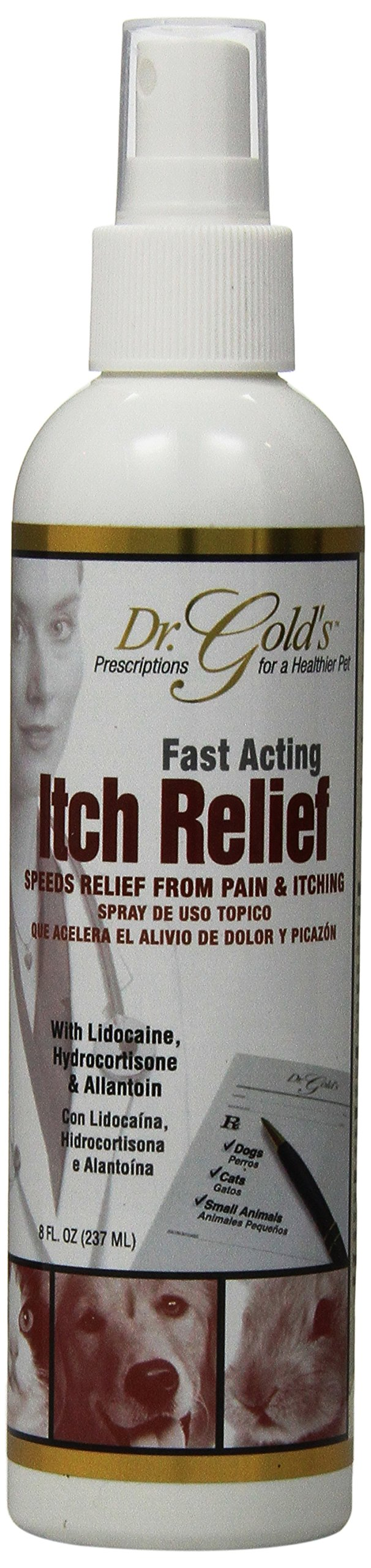 SynergyLabs Dr. Gold's Relief Itch Relief Spray 8 fl. oz