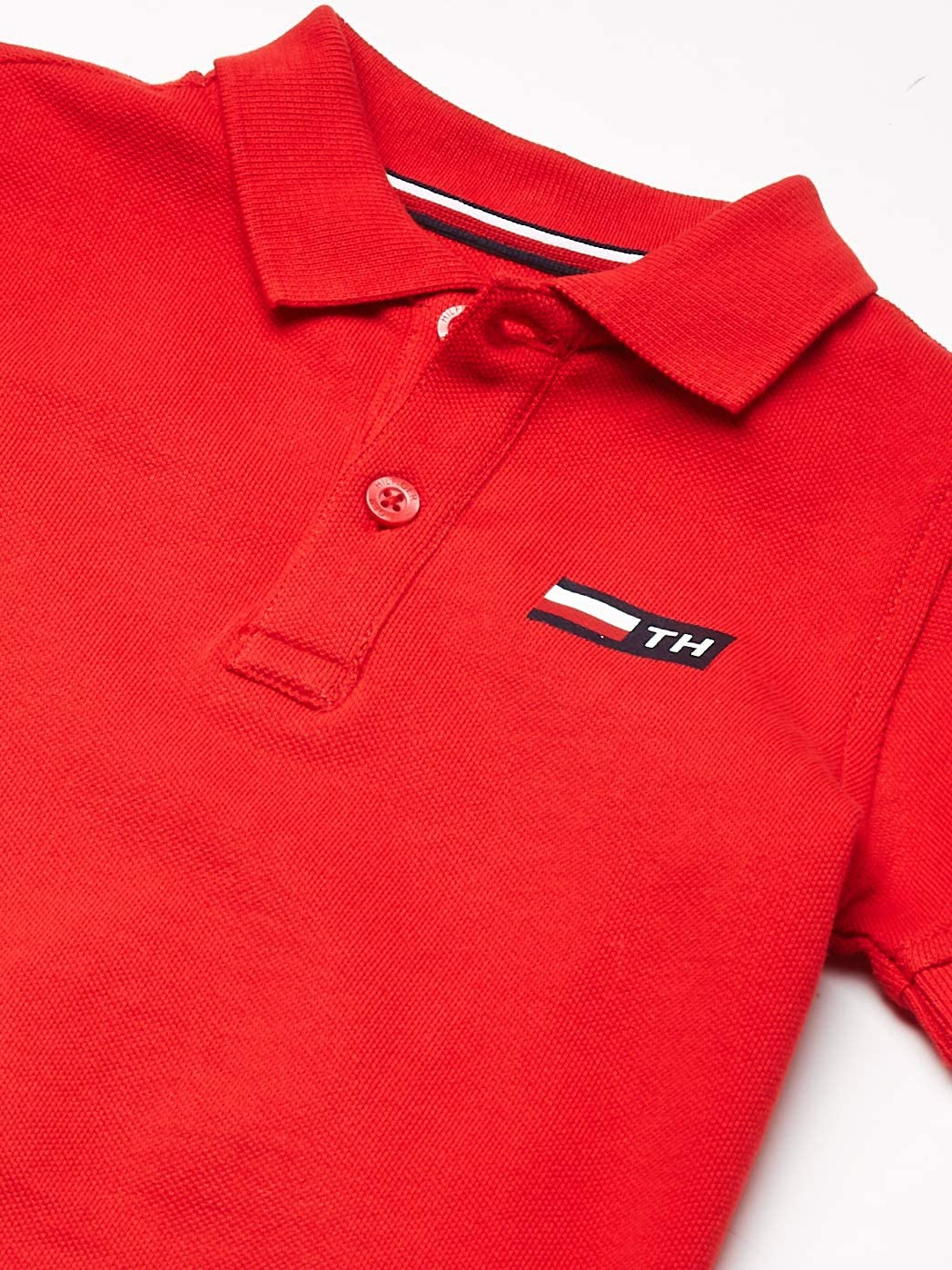 Tommy Hilfiger Baby Girl Rugby Stripe Dress S//S Blusa para Beb/és