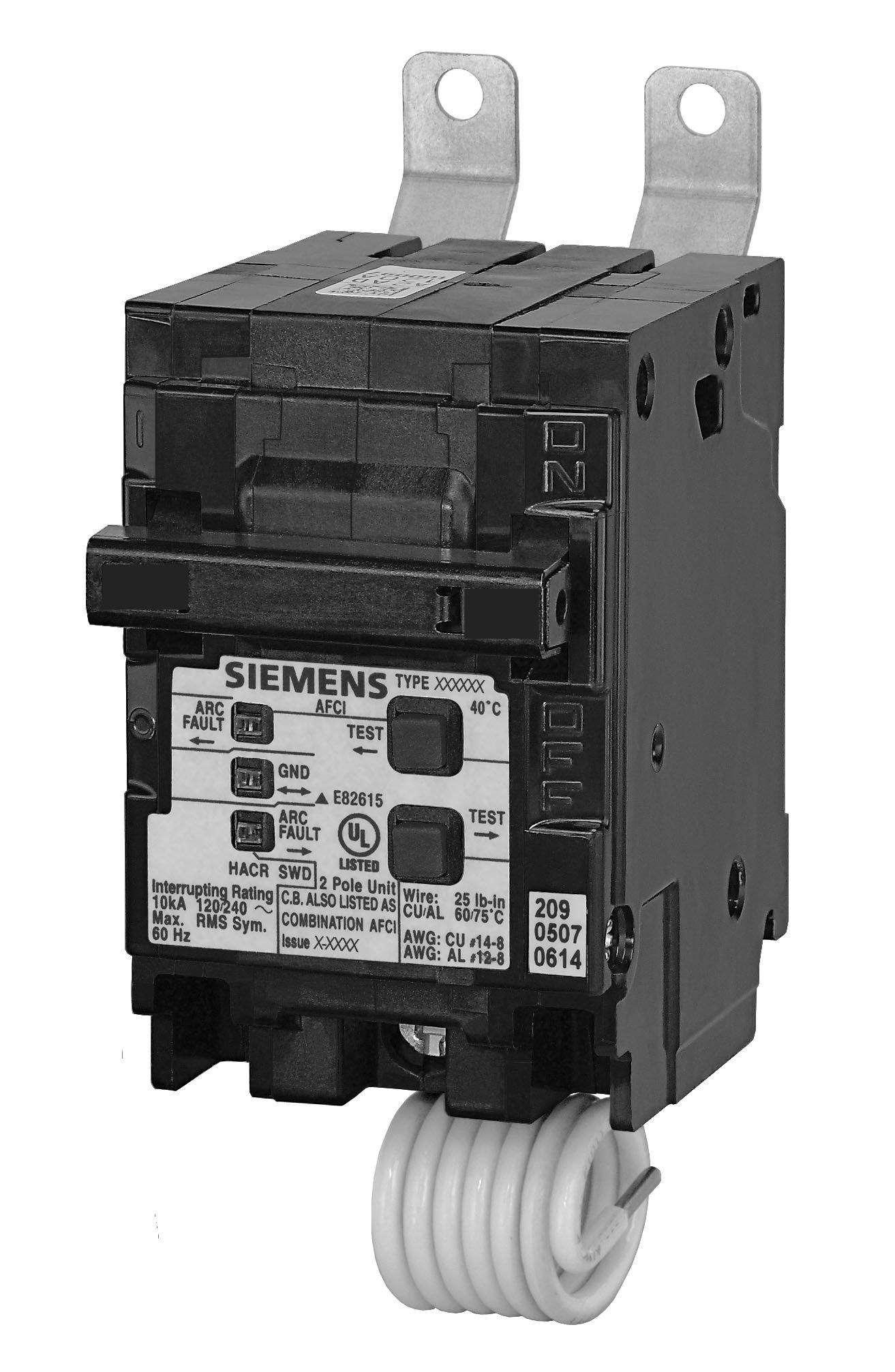 Siemens B220AFC 20-Amp Double Pole 120 / 240-Volt 10KAIC Bolt in Breaker