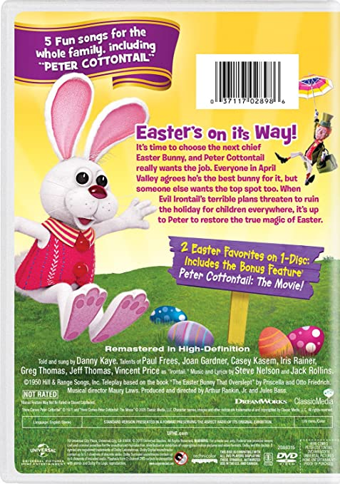 Amazon com: Here Comes Peter Cottontail: Danny Kaye, Paul