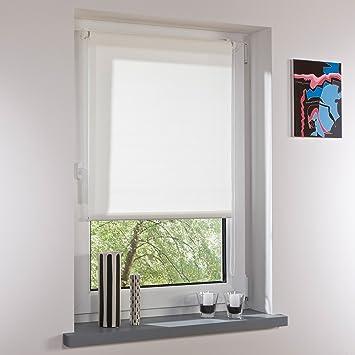 Fensterrollo Rollo Sichtschutz mit Seitenzug Kettenzug 150 x 60//75 H x B