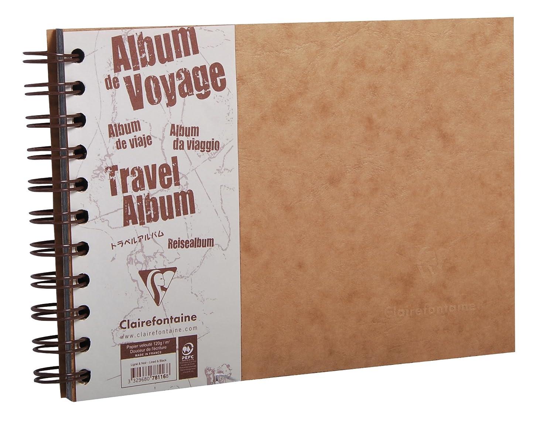 Clairefontaine 78116C Album da Viaggio Marrone 24.5 x 15 x 1.1 cm