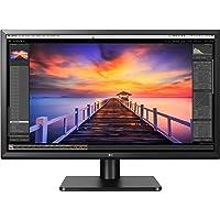 LG 27UD58P-B 68,58cm (27Zoll) (TFT-LCD Matrix AH-IPS White LED 16:9 3840 x 2160 250cd 1000:1 5ms HDMI DP) Mattschwarz
