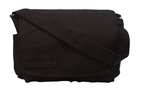 Image Unavailable. Image not available for. Color  Rothco Vintage Unwashed Canvas  Messenger Bag 314980c7731