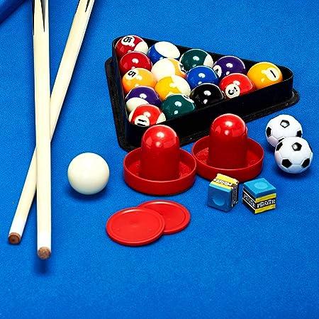 Lancaster Gaming Company - Mesa de juegos 3 en 1: Billar, futbolín ...