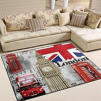 Amazon De Naanle Britische Flagge London Big Ben Rutschfeste