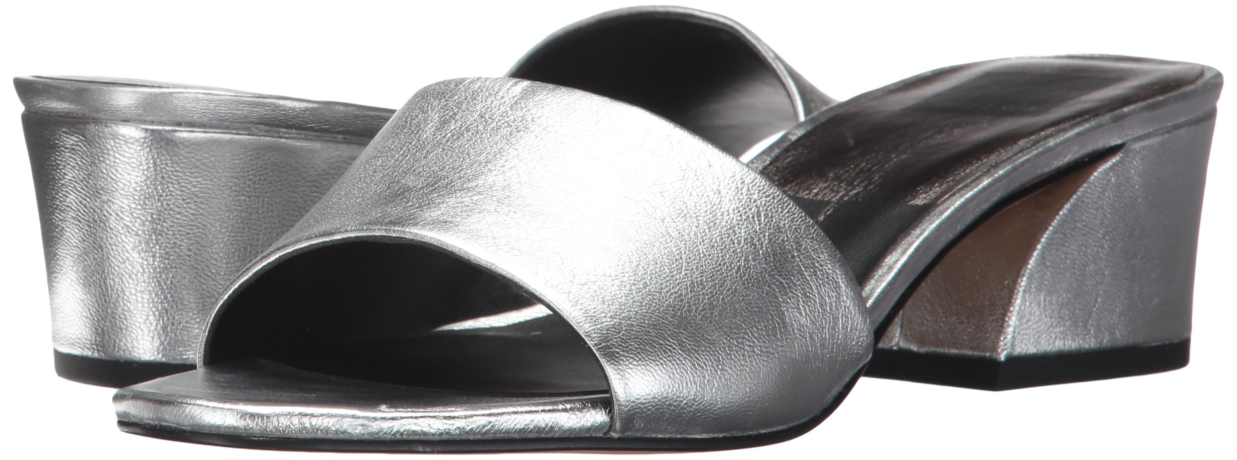 Dolce Vita Women's Rilee Slide Sandal, Silver Leather, 7 Medium US by Dolce Vita (Image #6)