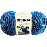 Bernat Satin Solid Yarn, Single Ball