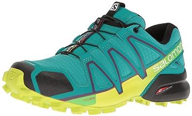 purchase cheap 7033d 92aee Salomon Speedcross 4 W, Chaussures de Trail Femme, Vert (Deep Peacock Blue