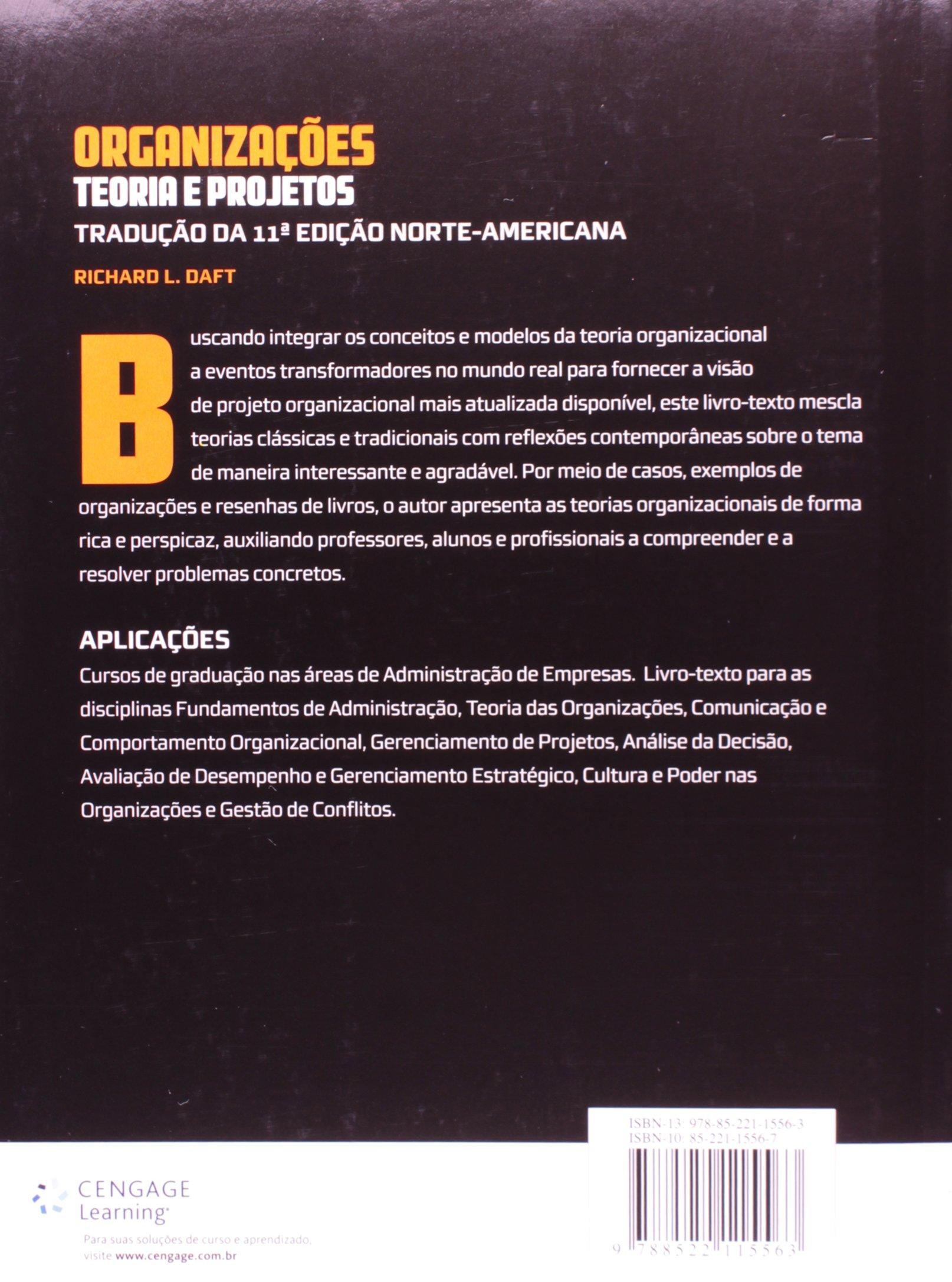 Organizaes teoria e projetos 9788522115563 livros na amazon teoria e projetos 9788522115563 livros na amazon brasil fandeluxe Image collections