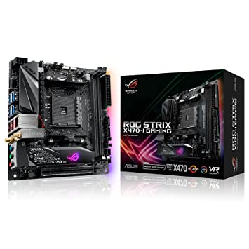 Amazon.com: ASUS Strix x470-i AMD Mini ITX Gaming placa base ...