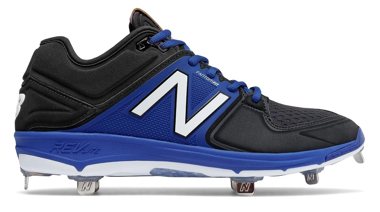 (ニューバランス) New Balance 靴シューズ メンズ野球 Low-Cut 3000v3 Metal Cleat Black with Blue ブラック ブルー US 14 (32cm) B01N032NP1