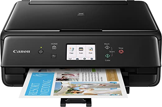 Canon TS6120 Wireless All-In-One Printer with Scanner and Copier: Mobile and Tablet Printing, with Airprint(TM) and Google Cloud Print compatible, ...