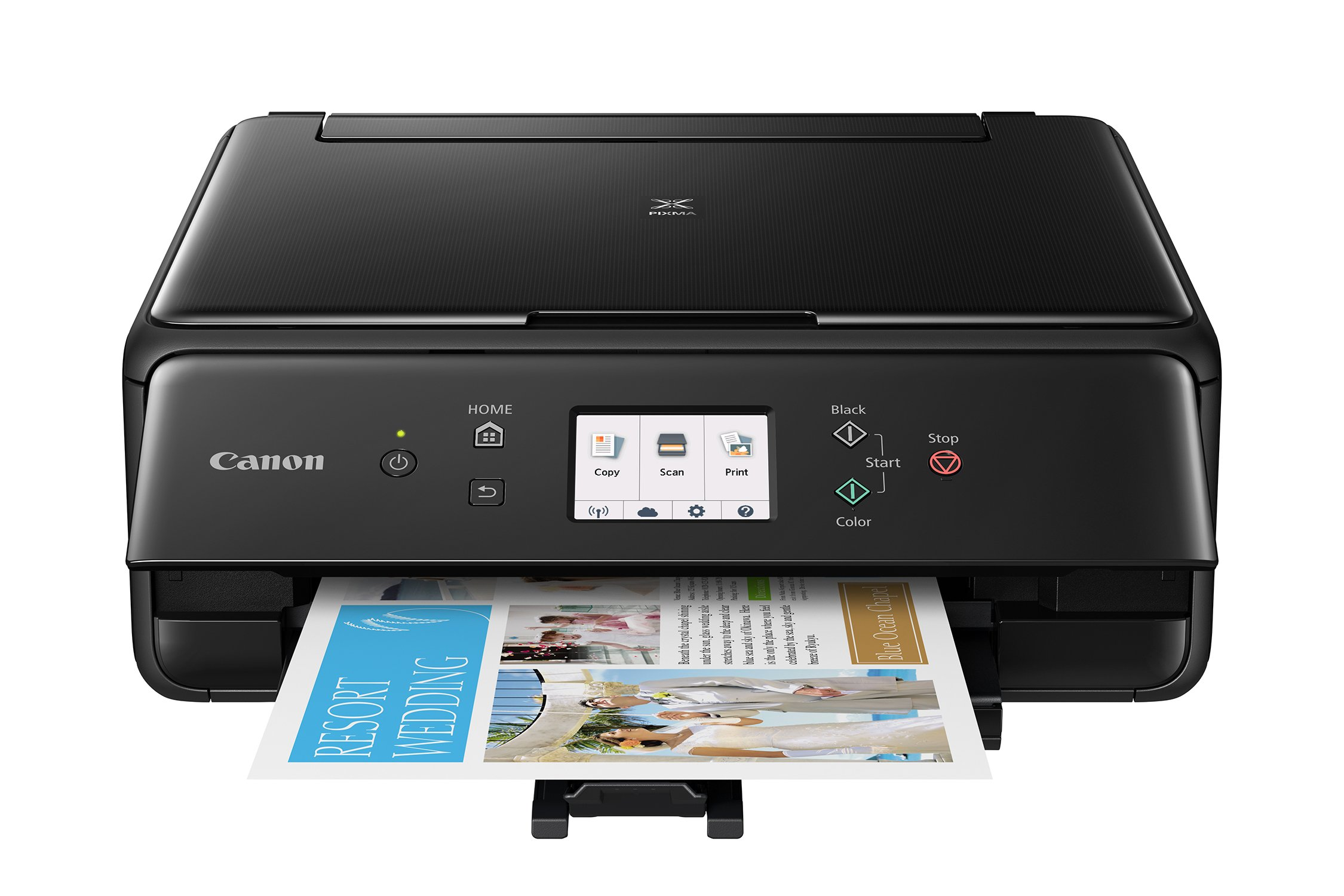 Canon TS6120 Wireless All-In-One Printer with Scanner and Copier: Mobile and Tablet Printing, with Airprint(TM) and Google Cloud Print compatible, Black by Canon