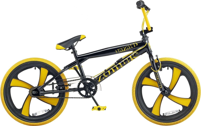 Zombie Hazard - Bicicleta Bmx de 11 cm, rueda de 20