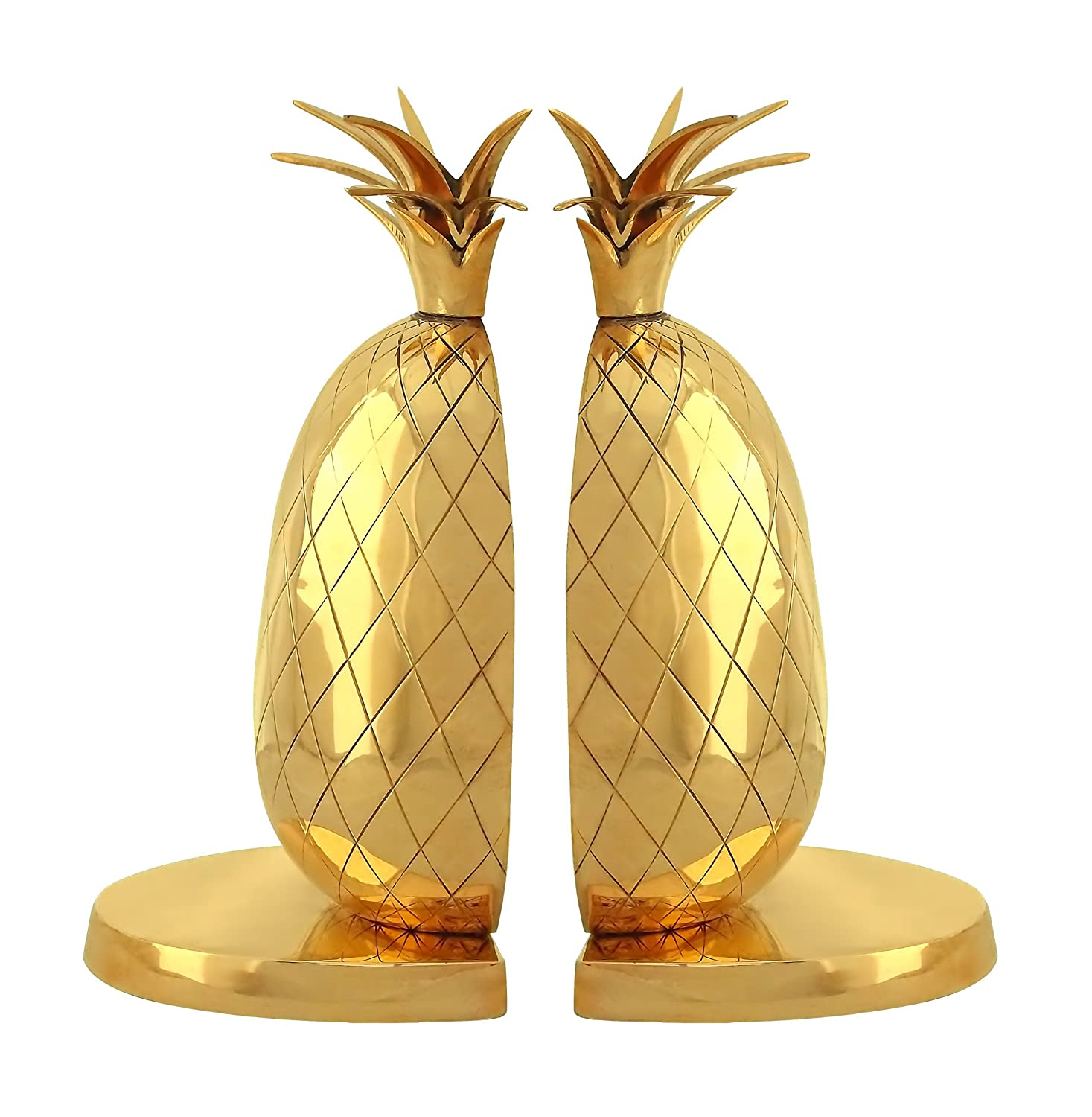Gusums Messing Pineapple Bookend, Gold, 22 cm Mr Fredrik BOK0013