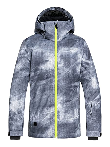 QUIKSILVER Boys Big Mission Printed Youth 10k Snow Jacket