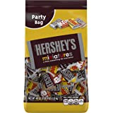 HERSHEY'S Chocolate Candy Bar Assortment, Miniatures (Hershey's, Krackel, Mr Goodbar, Special Dark), 40 Ounce Bulk Candy
