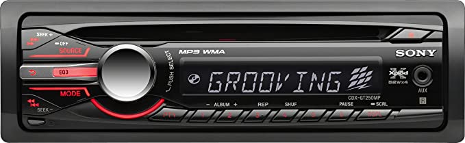 amazon com sony cdxgt250mp mp3 wma cd receiver (discontinued by sony cdx-m10 wiring diagram sony cdxgt250mp mp3 wma cd receiver (discontinued by manufacturer)