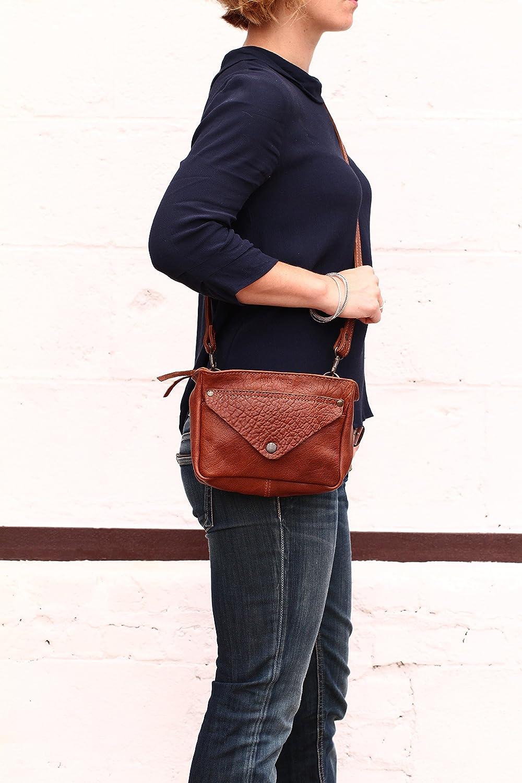 69dcb2d614 LE GAVROCHE Naturel petit sac bandoulière en cuir souple façon Bubble style  Vintage PAUL MARIUS: Amazon.fr: Chaussures et Sacs